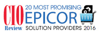 20 Most Promising Epicor Solution Providers - 2016